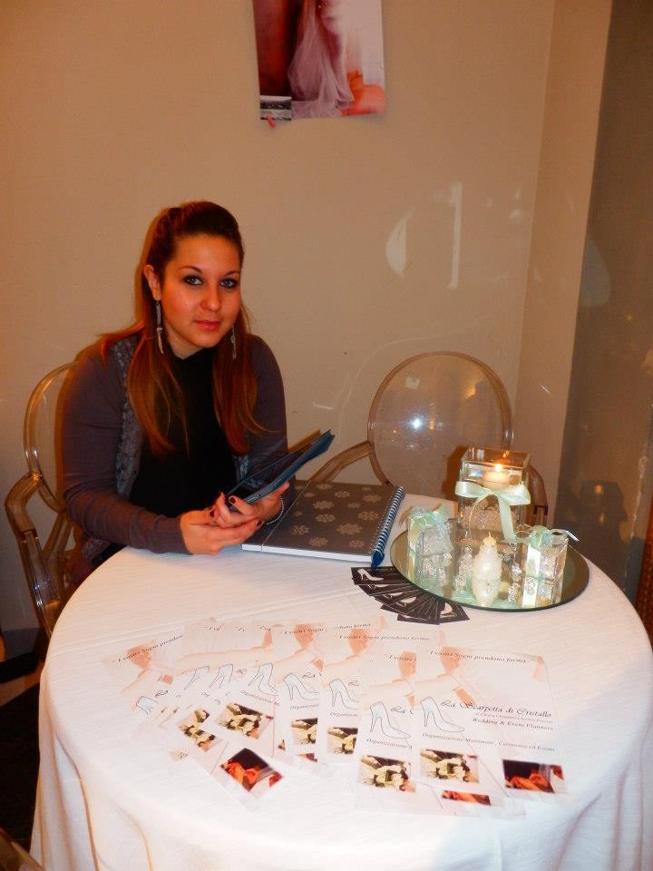 Chiara Chimento Presidente Wedding Angels Provincia Pistoia