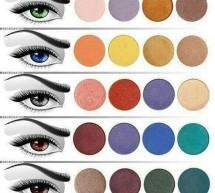 Dimmi che colore di occhi hai ……..e ti dirò il colore di ombretto da usare Rubrica di Marianna Gueli Make up Artist