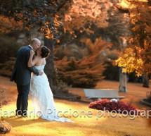 Un matrimonio con i colori dell'autunno